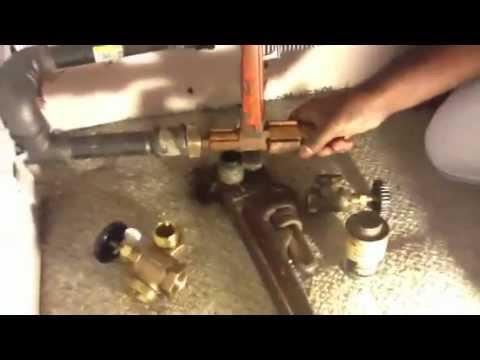 Steam Radiator Valve Replace Youtube