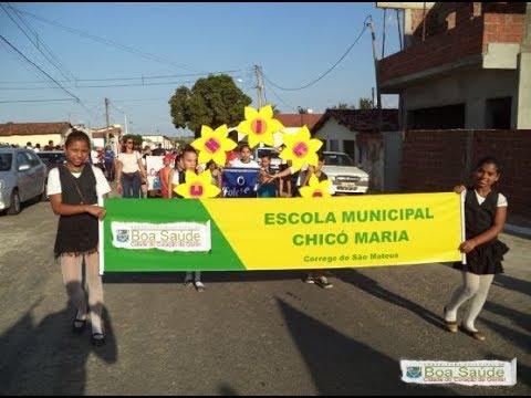 TV CÓRREGO - Chicó Maria no Desfile Cívico