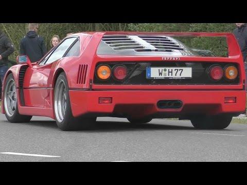 BEST-OF Ferrari Sounds 2016! LaFerrari, F40, 488GTB, 458 Speciale, Testarossa