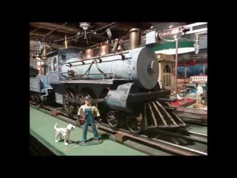 Voltamp Powder Blue 2100 Locomotive & Tender