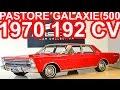 PASTORE Ford Galaxie 500 1970 Vermelho 292 MT3 4.8 V8 192 cv 37,1 mkgf 150 kmh 0-100 kmh 15 s #Ford