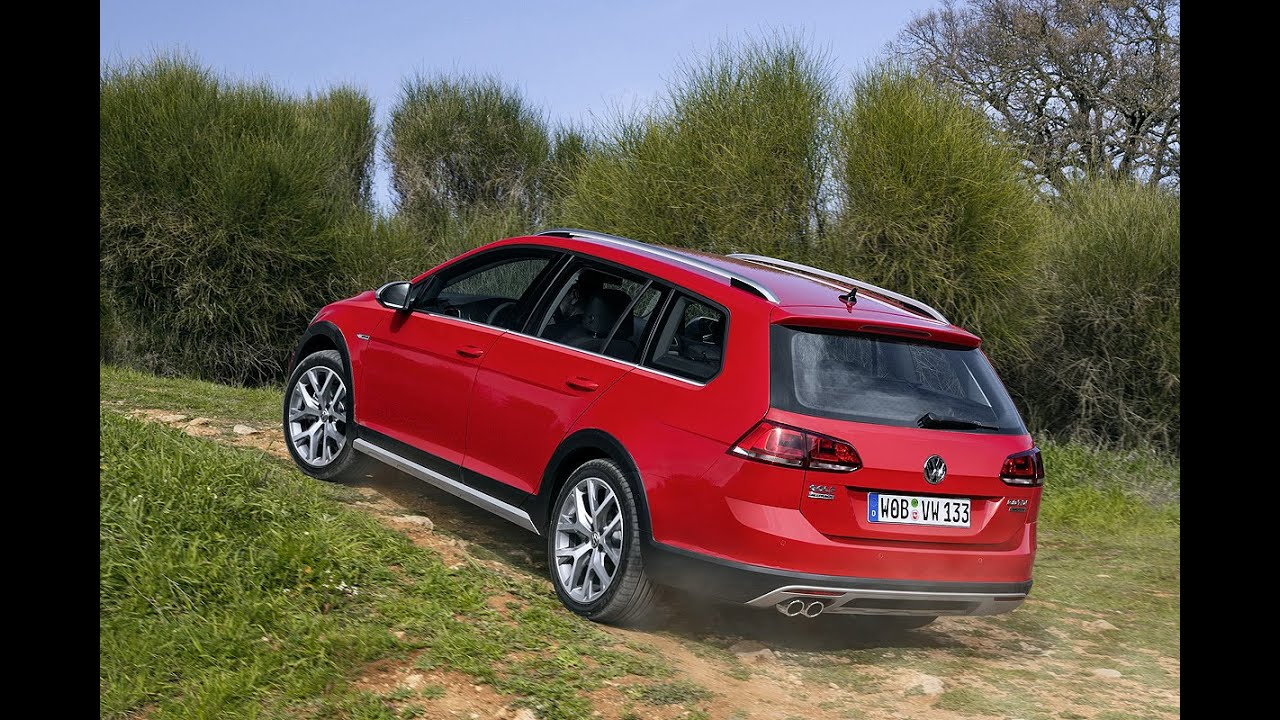vw golf alltrack 2015 der offroad golf youtube. Black Bedroom Furniture Sets. Home Design Ideas