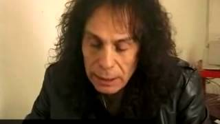 TOP SECRET 2009 Ronnie James Dio talks about UFO sighting