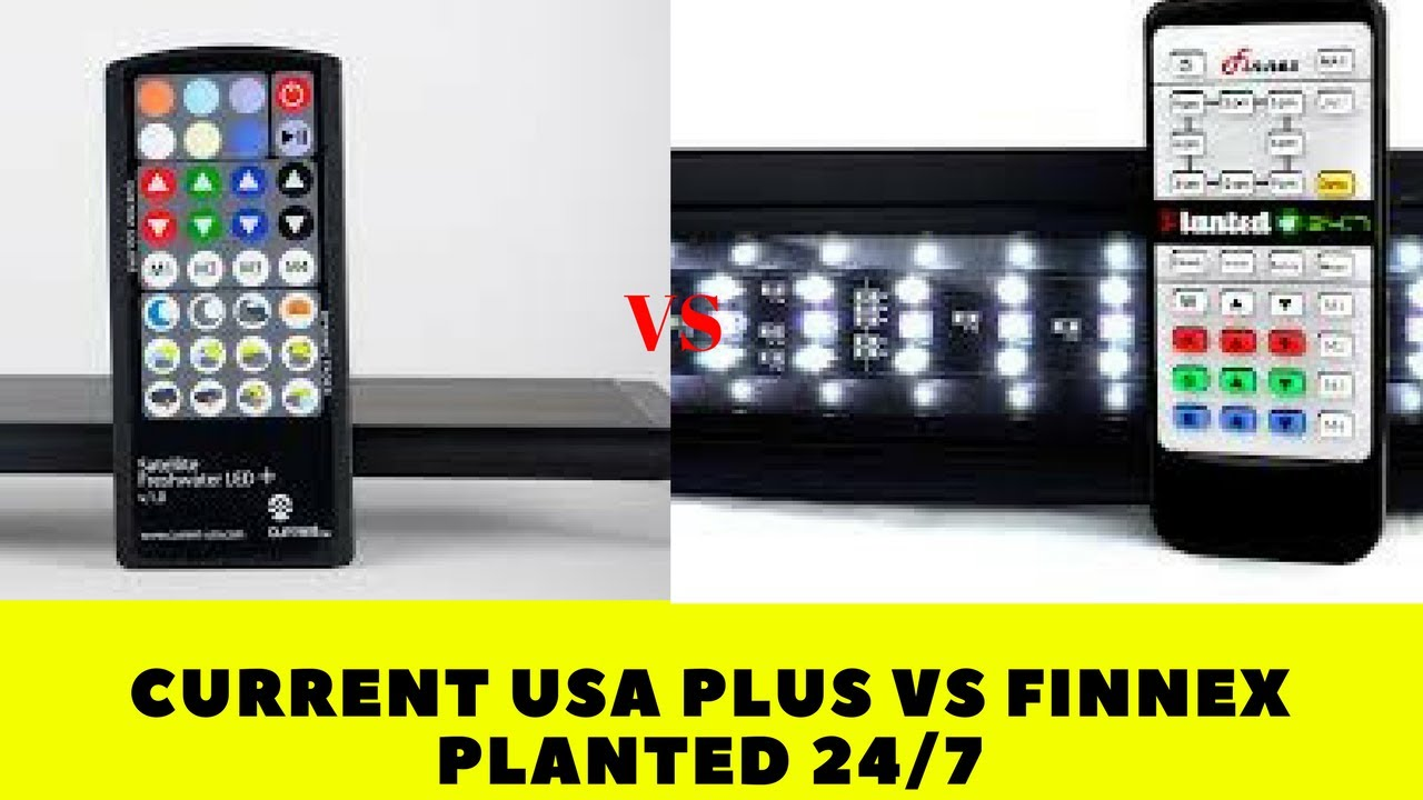 current usa plus vs finnex planted 24 7 review youtube