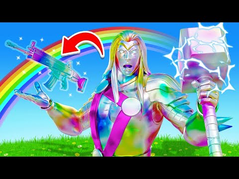 The RAINBOW THOR Challenge in Fortnite!