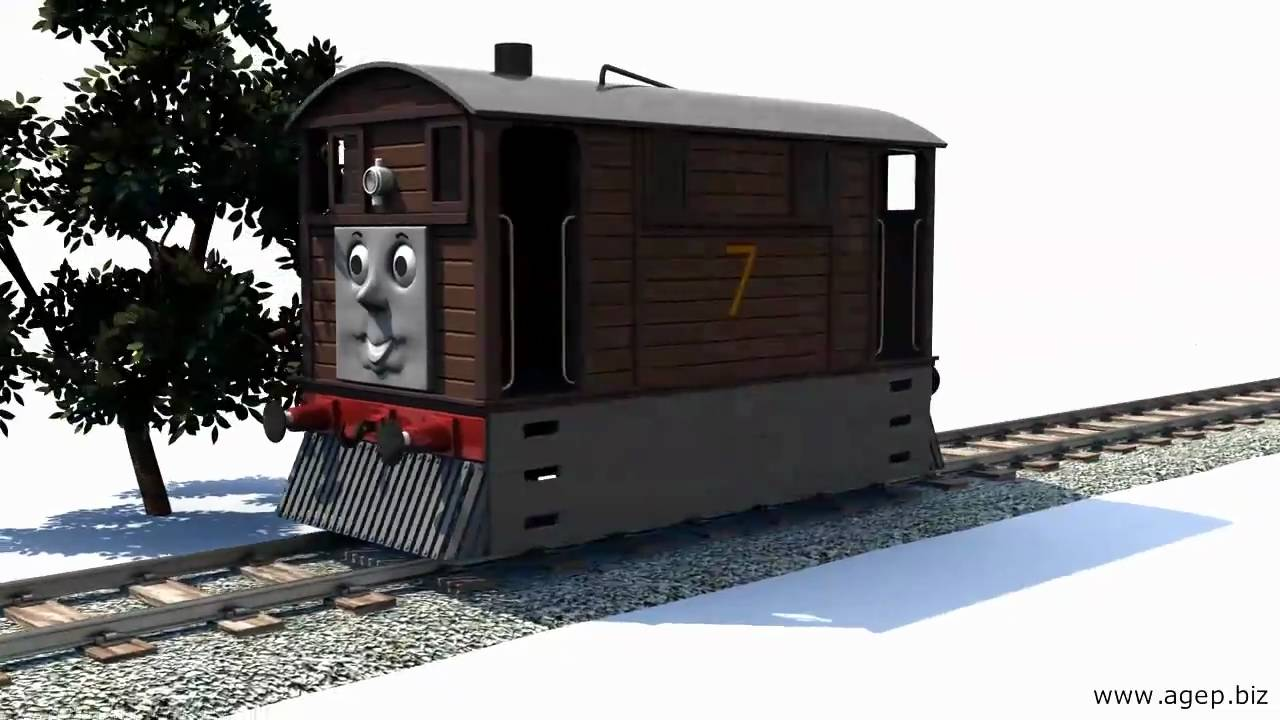 Toby the Tram Engine 3D YouTube