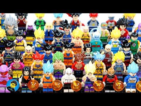 Lego Dragon Ball Z ドラゴンボールZ Super Saiyan サイヤ人 Saiyajin Xenoverse Goku 52 Unofficial Minifigures