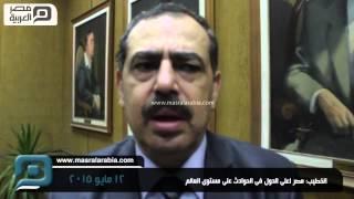 مصر العربية | الخطيب: مصر اعلى الدول فى الحوادث على مستوى العالم