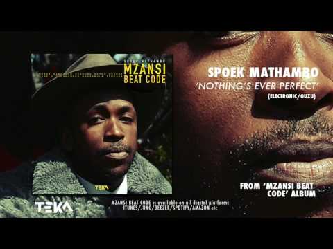 Spoek Mathambo - Nothing's Ever Perfect ft Loui Lvndn