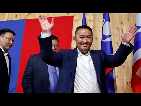 Mongolia's news president, the martial arts star
