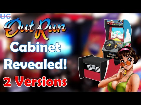 2 Versions of Out Run Coming! The First Arcade1up Racing Cab is Here from Unqualified Critics