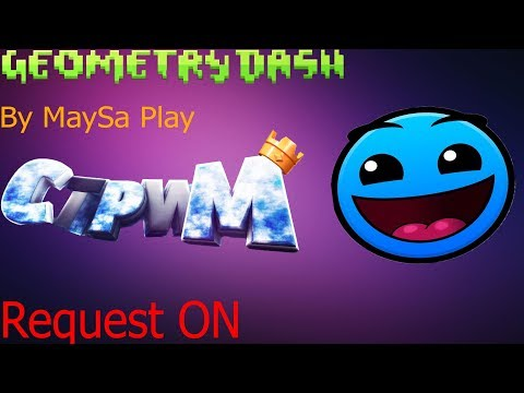 Играем в Geometry Dash Req ON STREAM!!! [RUS] [ENG]