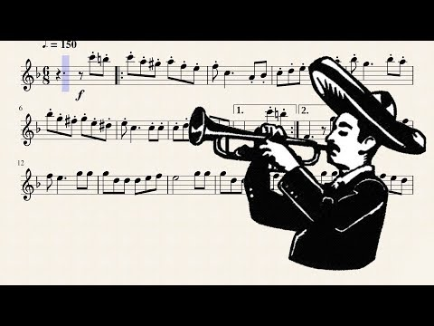 Mexican Hat Dance for Bb Trumpet