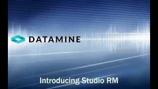 Introduction to Studio RM from Datamine