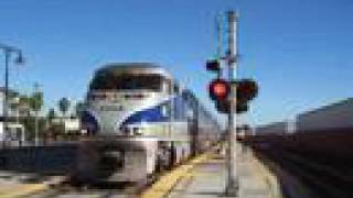 Amtrak Surfliner 784 & 775 at Glendale