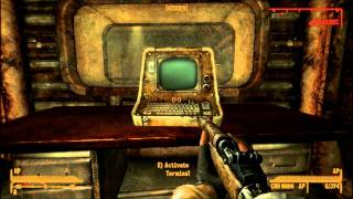 Fallout New Vegas Hard Luck Blues part 2 of 6 Vault 34 Entrance and Main Chamber