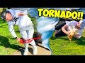 THIS TORNADO CHALLENGE IS CRAZY!!!
