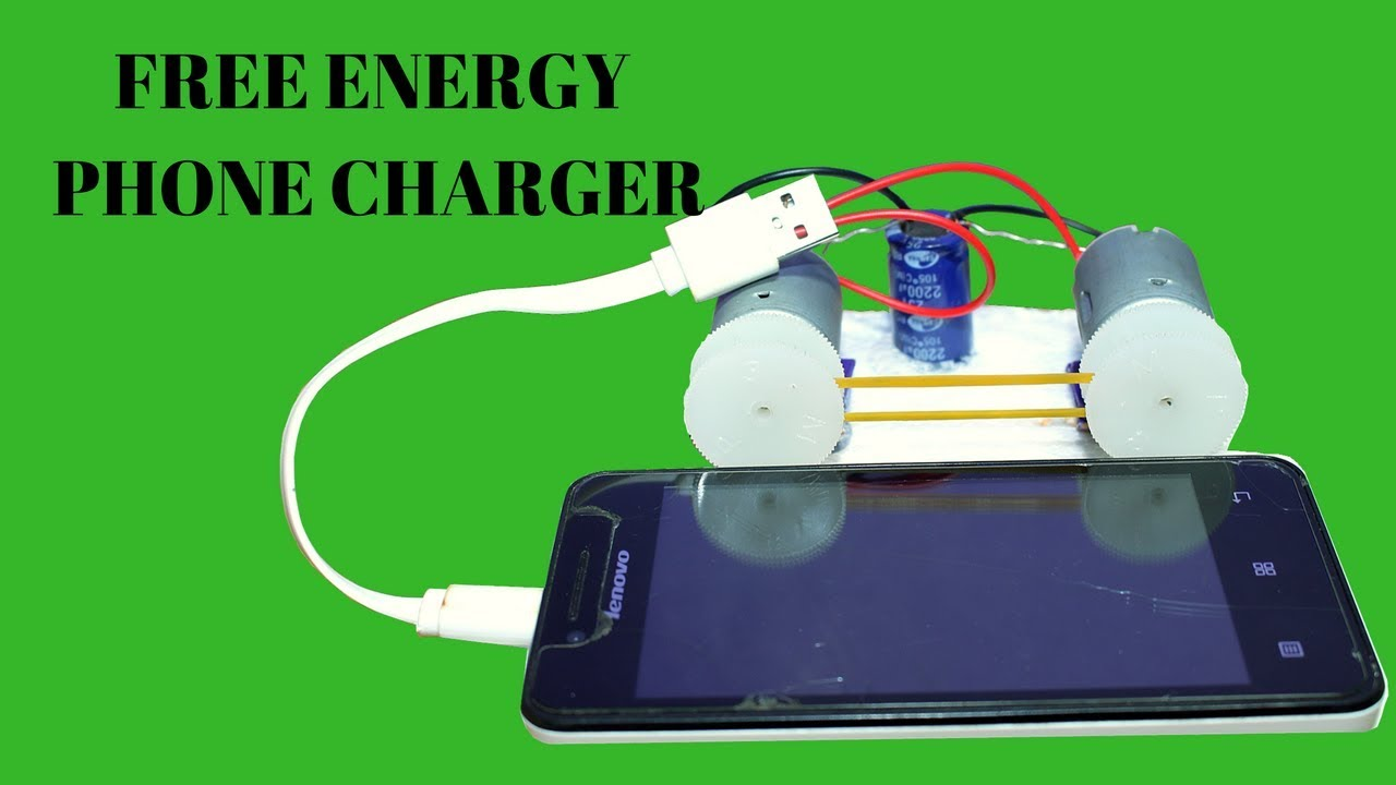 Free Energy Mobile Charger For Life Time - Free Energy Mobile Charger