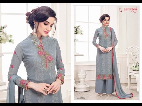 Buy Beautiful & Fancy Designer Work Salwar Kameez at Cheap Price | Pakistani Suits Wholesaler from YouTube · Duration:  54 seconds