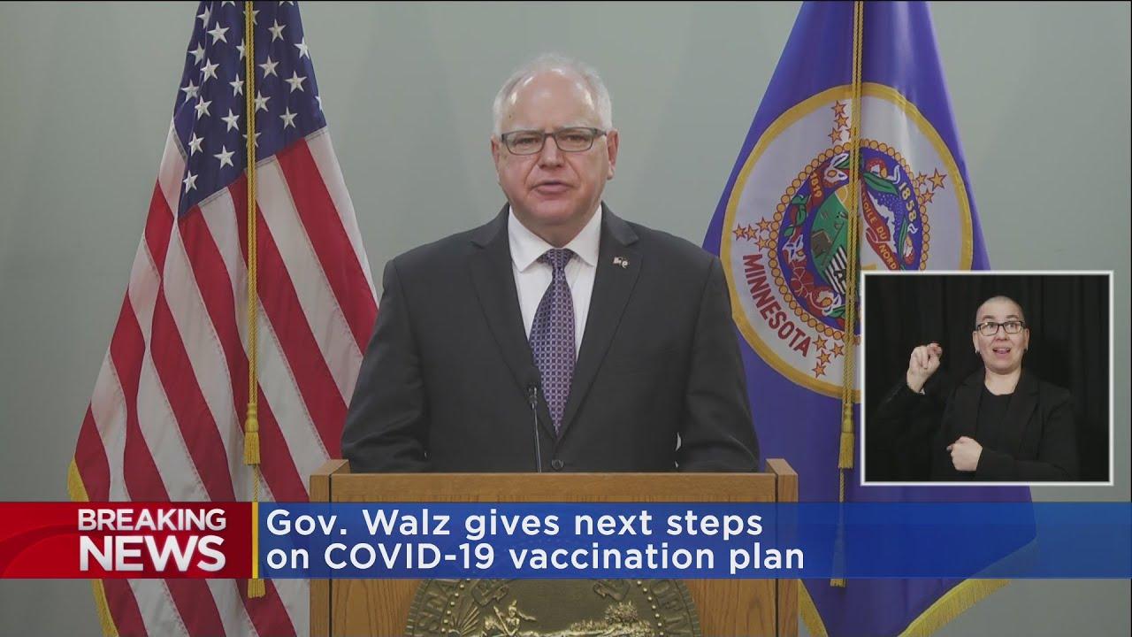 Gov. Walz Announces Plan To Expand Vaccines