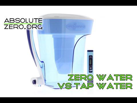 Surprising Zero Water Filter Test! Review & Unboxing