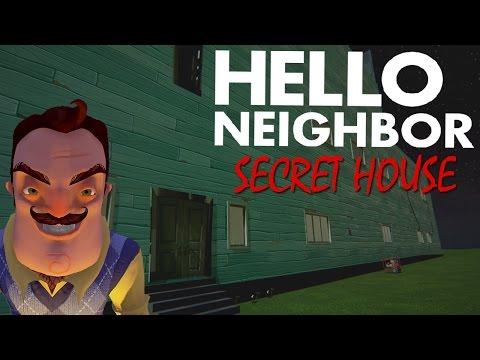 EXPLORING THE SECRET SECOND HOUSE & BASEMENT!   Hello Neighbor Myths