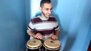 african bell carol christmas song bongos solo