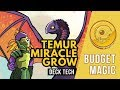 Budget Magic: $100 (61 tix) Temur Miracle Grow (Deck Tech)
