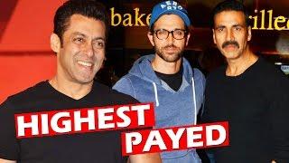 Salman Khan BEATS Akshay Kumar, Hrithik Roshan - Highest Tax Payer