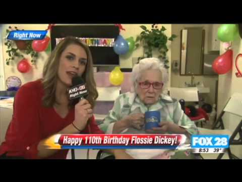Flossie Dickey Interview