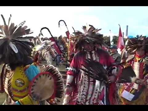 Pow Wow Grand Entry - Piapot, Saskatchewan - Retro Pow Wow '09