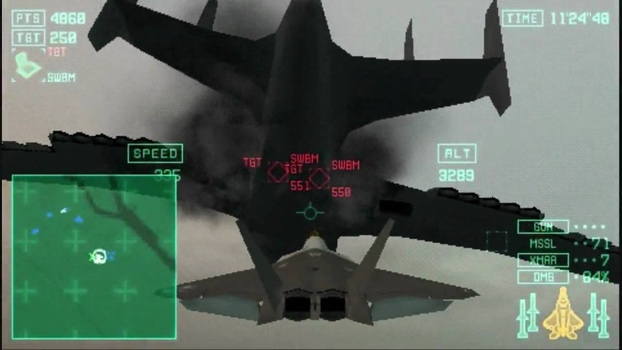 ace combat x skies of deception 09 starscream vs