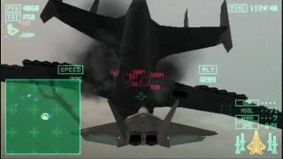 Скачать Ace Combat X Skies Of Deception 09 Starscream VS Gleipnir