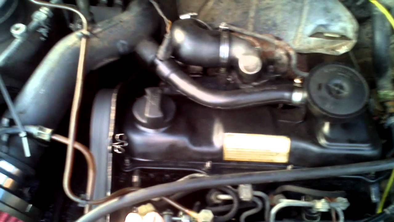MK2 Jetta 1.6TD w/ K14 turbo spooling - YouTube