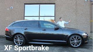2015 Jaguar XF Sportbrake R Sport indepth tour