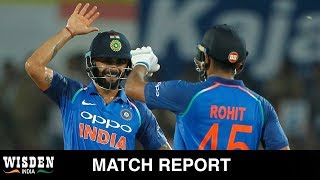 Fifth ODI: Axar with the ball and Rohit with the bat star in big Indian win   Wisden India