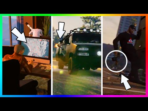 "GTA 5 ""FINANCE & FELONY"" DLC FINDING MORE HIDDEN DETAILS, SECRET LOCATIONS & MORE LIVE! (GTA V)"
