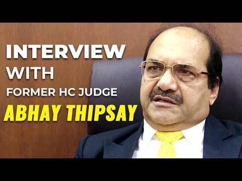 An interview with former HC judge Abhay Thipsay | Mumbai Live