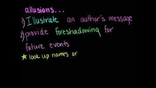 Literary Terms: Allusion