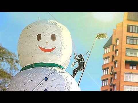 THE HIGHEST HANDMADE SNOWMAN 2019