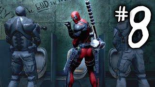 "Deadpool Gameplay Walkthrough Part 8 - ""THE END IS NEAR"" (Deadpool PS3/Xbox 360/PC)"