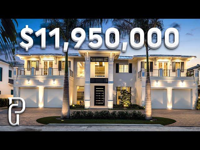 Inside a $11,950,000 Modern Mansion in Southern Florida! | Propertygrams Mansion Tour