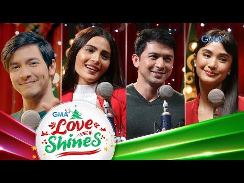 GMA Christmas Station ID 2019 Lyric Video: Love Shines