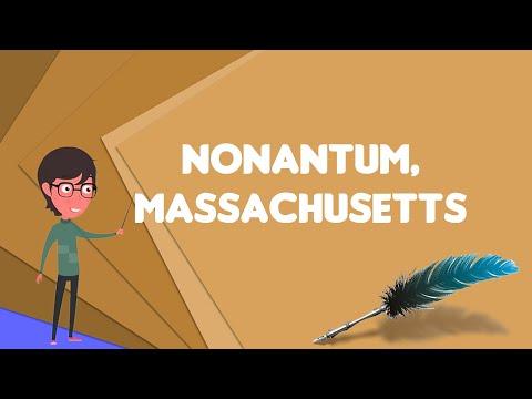 What is Nonantum, Massachusetts?, Explain Nonantum, Massachusetts, Define Nonantum, Massachusetts