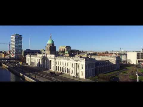 Flying a drone in Dublin City, Ireland