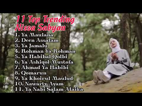 Full Album NISSA SABYAN Gambus  by lirik mp4