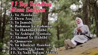 Full Album NISSA SABYAN Gambus by lirik mp4