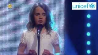 Amira Willighagen - Performance for Unicef - O Mio Babbino Caro - 16 July 2014