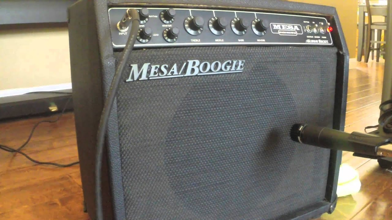 Mesa Boogie Subway Rocket