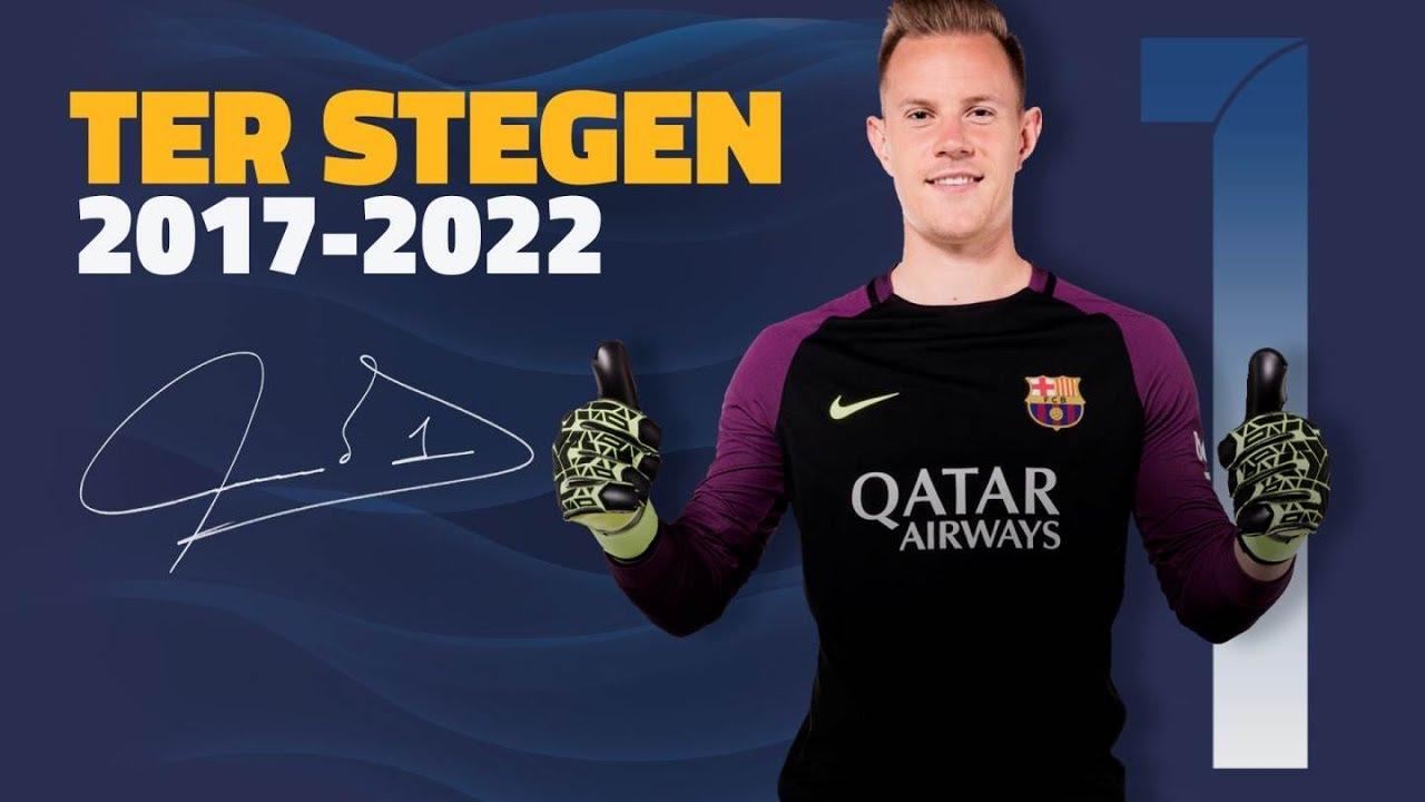 c619d6b43 FC Barcelona extends Ter Stegen contract until 2022 - YouTube
